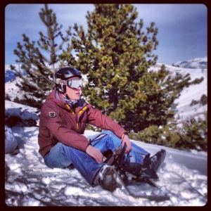 Chris Snowboarding 21.2.14